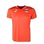 Asics MAN RUSSIA SS TEE Футболка игровая волейбольная Красный