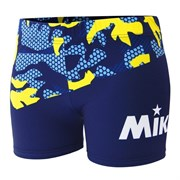 Mikasa MT6050 Шорты для пляжного волейбола женские Темно-синий/Белый