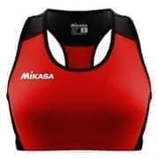 Mikasa MT6051 Топ для пляжного волейбола женские Красный/Черный