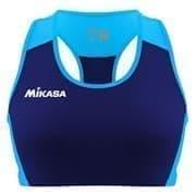 Mikasa MT6051 Топ для пляжного волейбола женские Темно-синий/Голубой