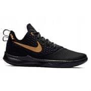Nike LEBRON WITNESS III Кроссовки баскетбольные Черный/Золотой