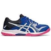Asics GEL-ROCKET 9 (W) Кроссовки волейбольные женские Синий/Белый/Розовый
