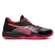 Asics NETBURNER BALLISTIC FF (W) Кроссовки волейбольные женские Черный/Розовый