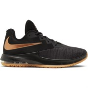 Nike AIR MAX INFURIATE III LOW Кроссовки баскетбольные Черный/Золотой