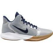 Nike PRECISION III Кроссовки баскетбольные Серый/Темно-синий