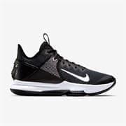 Nike LEBRON WITNESS IV Кроссовки баскетбольные Черный/Белый