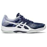 Asics GEL-TACTIC 2 (W) Кроссовки волейбольные женские Темно-синий/Белый
