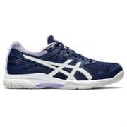 Asics GEL-TASK 2 (W) Кроссовки волейбольные женские Темно-синий/Белый