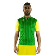 Legea LISBONA Футболка Зеленый/Желтый