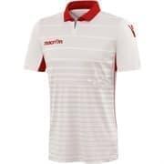 Macron TABIT Футболка Белый/Красный