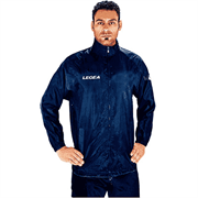 Legea ITALIA Куртка ветрозащитная Темно-синий/Белый