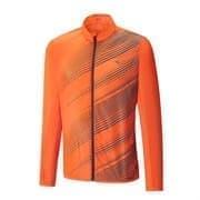 Mizuno PREMIUM AERO JACKET Куртка ветрозащитная Оранжевый/Темно-серый
