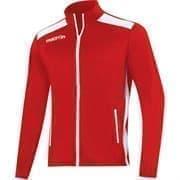 Macron NIXI FULL ZIP Куртка спортивная Красный/Белый