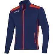 Macron NIXI FULL ZIP Куртка спортивная Темно-синий/Красный