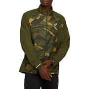 Asics FUTURE CAMO JACKET Куртка беговая ветрозащитная Зеленый
