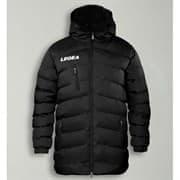Legea SUOMI TORNADO Куртка утепленная с капюшоном Черный