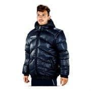 Legea GIUBBOTTO TORNADO QUEBEC Куртка утепленная Темно-синий/Белый