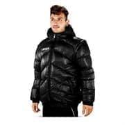 Legea GIUBBOTTO TORNADO QUEBEC Куртка утепленная Черный/Белый