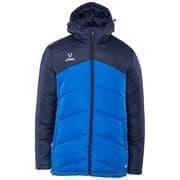 Jogel JPJ-4500-971 Куртка утеплённая Темно-синий/Синий/Белый