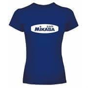 Mikasa MANICA CORTA Футболка Темно-синий/Белый