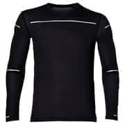 Asics LITE-SHOW LS TOP Футболка беговая с длинным рукавом Черный/Серый
