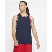 Nike DRI-FIT CLASSIC Майка баскетбольная Темно-синий/Белый