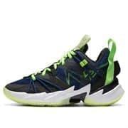 """Nike AIR JORDAN """"WHY NOT?"""" ZER0.3 SE (GS) Кроссовки баскетбольные детские Черный/Темно-синий"""