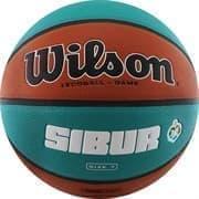 Wilson VTB SIBUR GAMEBALL ECO Мяч баскетбольный