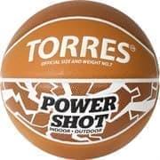Torres POWER SHOT (B32087) Мяч баскетбольный