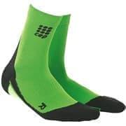 CEP C10M Носки средние Зеленый/Черный