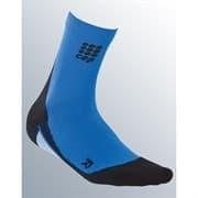 CEP C10W Носки беговые высокие   женские Синий/Черный