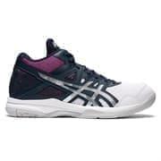 Asics GEL-TASK 2 MT (W) Кроссовки волейбольные женские Темно-синий/роз