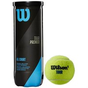 Wilson TOUR PREMIER ALL COURT Мячи для большого тенниса (3 шт)