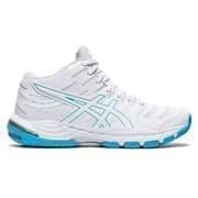 Asics GEL-BEYOND 6 MT (W) Кроссовки волейбольные женские Белый/Голубой