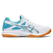 Asics GEL-TASK 2 (W) Кроссовки волейбольные женские Белый/Голубой