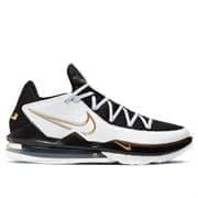 Nike LEBRON XVII LOW Кроссовки баскетболные Черный/Белый