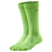 Mizuno VOLLEY SOCK LONG Гольфы волейбольные Зеленый/Темно-синий