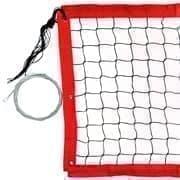 RUSBRAND FS-PV №15 Сетка для пляжного волейбола Черный/Красный