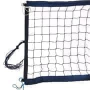 RUSBRAND FS-PV-№12 Сетка для пляжного волейбола профессиональная Черный/Темно-синий