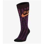 Nike SNKR SOX Носки высокие баскетбольные Черный/Фиолетовый/Оранжевый