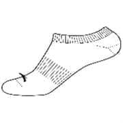 Anta SOCKS Носки низкие Белый/Черный