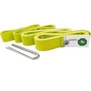 El Leon De Oro 94995000006 Комплект для разметки площадки для пляжного волейбола Желтый
