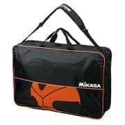 Mikasa BA6C-BKBR Сумка на 6 баскетбольных мячей Черный/Оранжевый