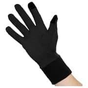Asics BASIC GLOVES Перчатки беговые Черный/Темно-серый