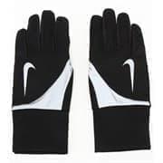 Nike SHIELD RUN GLOVES Перчатки беговые Черный/Белый