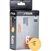 Stiga CUP ABS Мячи для настольного тенниса (6 шт) Оранжевый