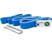 El Leon De Oro 94995000003 Комплект для разметки площадки для пляжного волейбола Синий