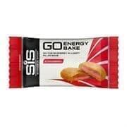 SiS GO ENERGY BAKE КЛУБНИКА Запеченный энергетический батончик 50г Красный