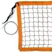 RUSBRAND FS-PV-№16 Сетка для пляжного волейбола Черный/Оранжевый