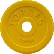 Torres PL50381 Диск обрезиненный 1,25 кг
